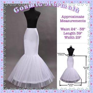 Dresses & Skirts - 🆕⭐️Mermaid Petticoat Wedding Dress Slip Skirt⭐️
